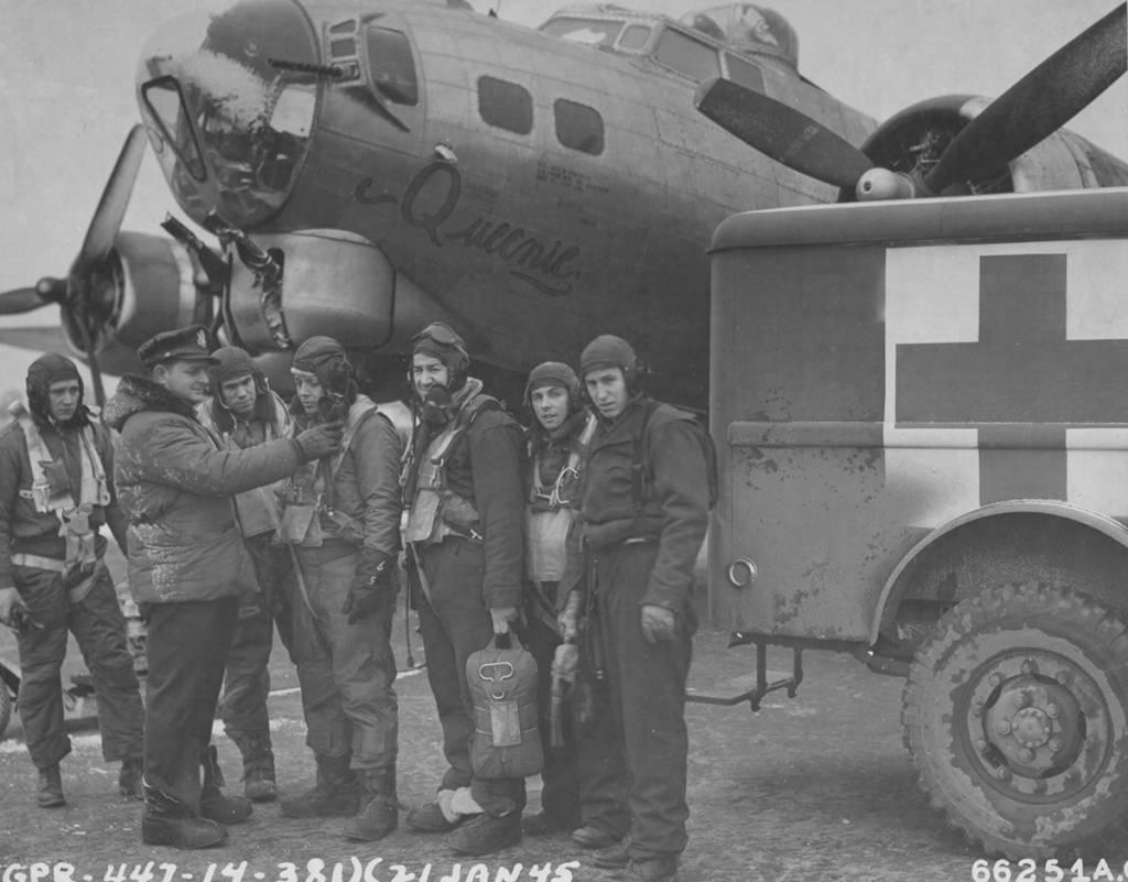 B-17 #42-97828 / Queenie