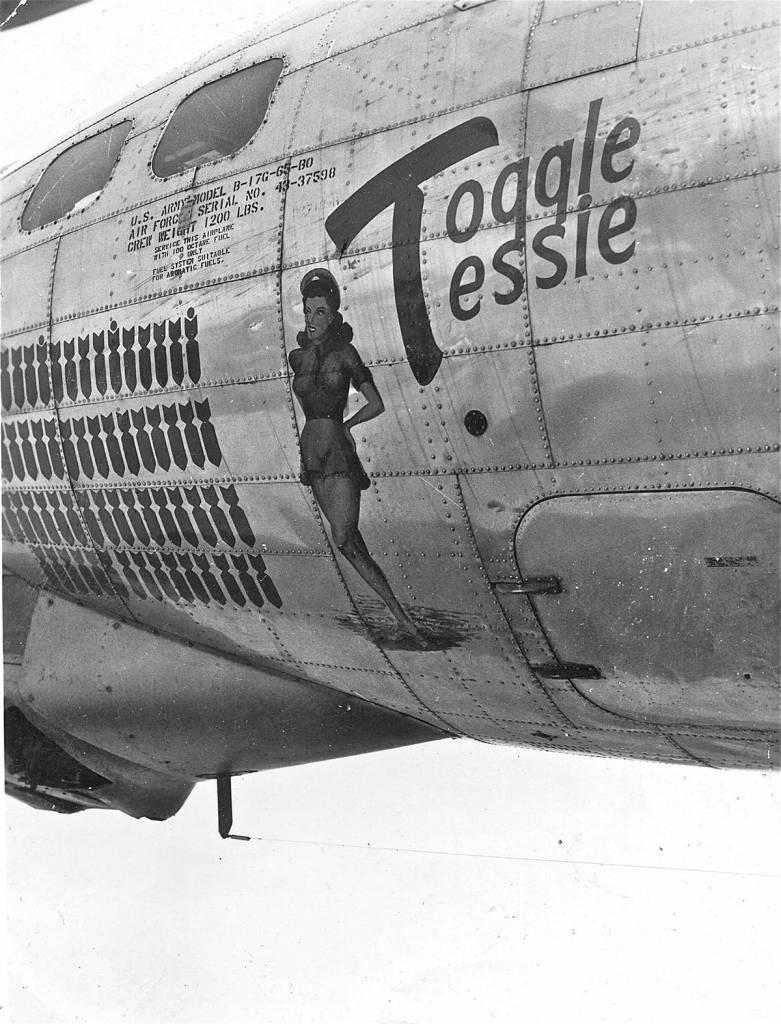 B-17 #43-37598 / Toggle Tessie