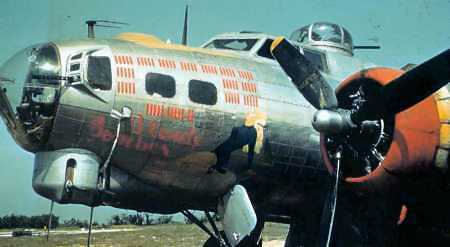B-17 #43-38524 / Blonde Bomber II