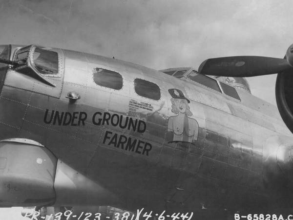 B-17 #44-6020 / Under Ground Farmer