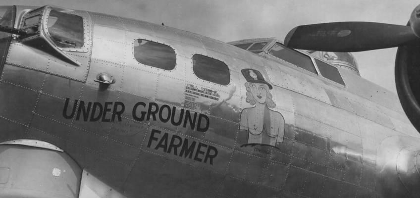 Boeing B-17 #44-6020 / Under Ground Farmer