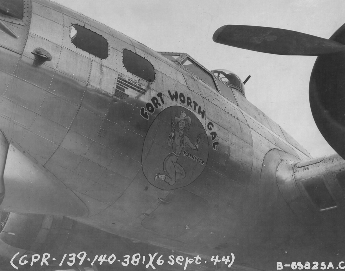B-17 #44-6095 / Fort Worth Gal