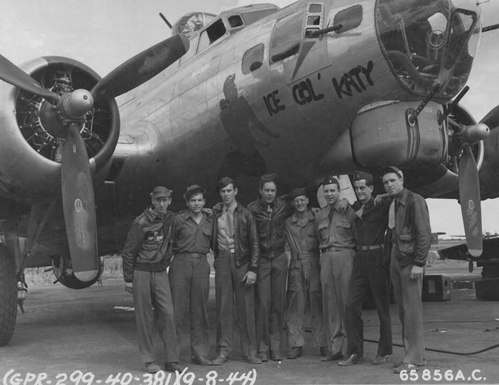 B-17 #44-6115 / Ice Col' Katy