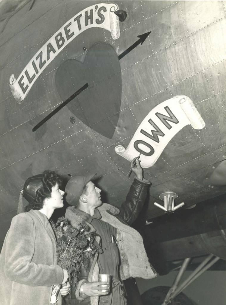 B-17 #44-8516 / Elizabeth's Own