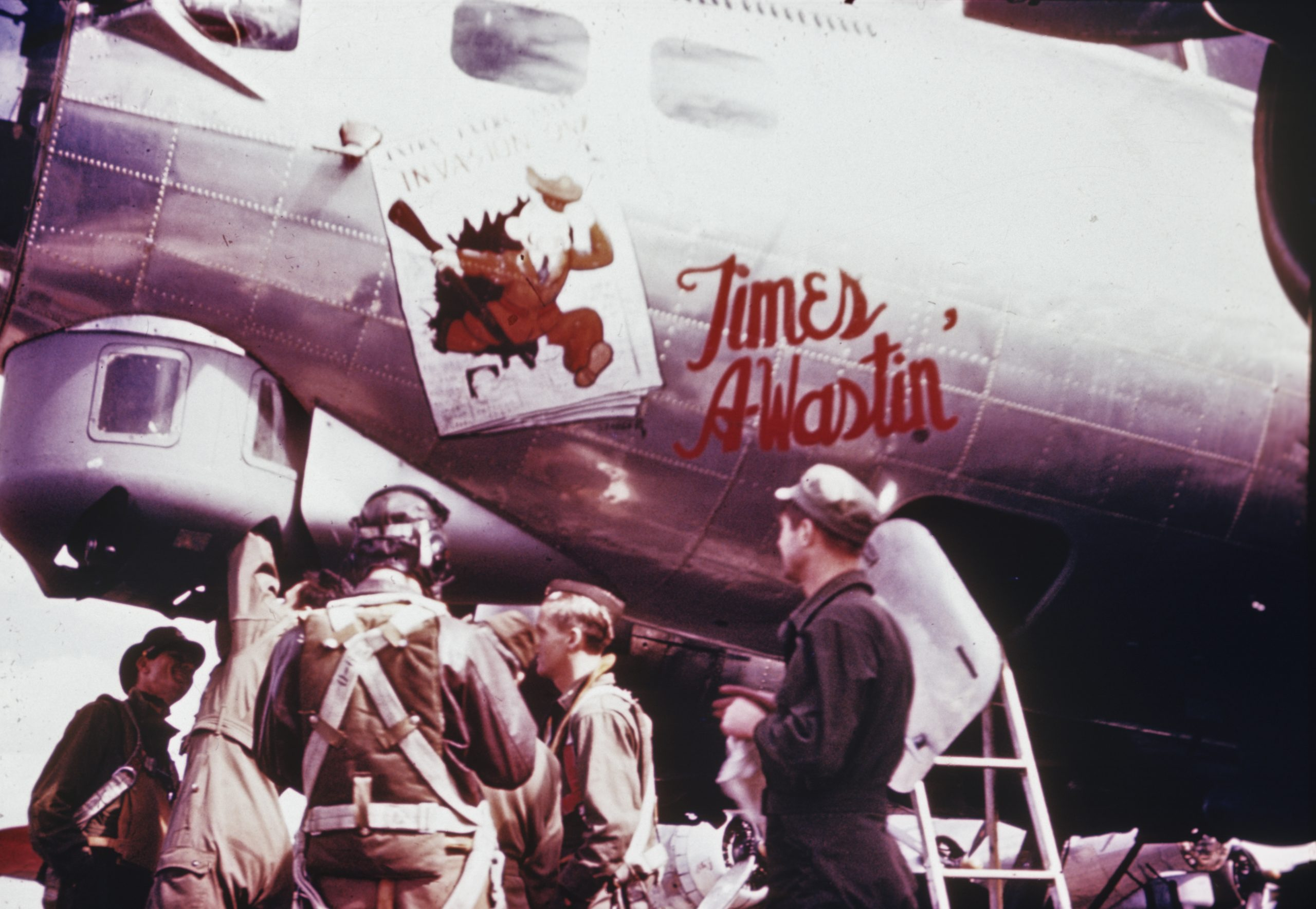 B-17 #42-102504 / Time's A-Wastin