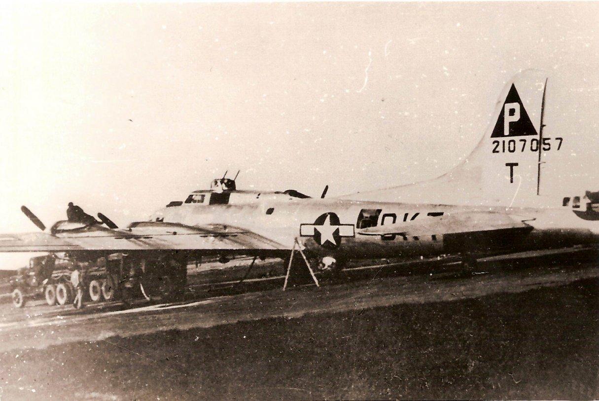B-17 #42-107057 / Spirit of 96