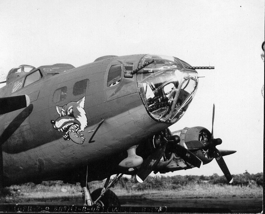 B-17 #42-30249 / El Lobo aka Raunchey Wolf