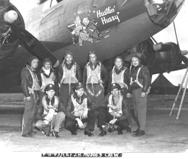 B-17 #42-30354 / Hustlin' Hussy