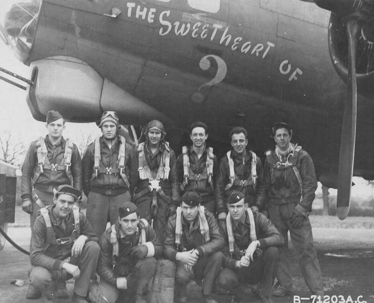 B-17 #42-31728 / Sweetheart of Pas de Calais