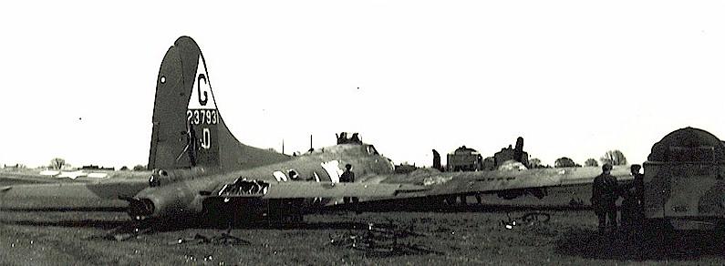 B-17 #42-37931 / Bertie Lee