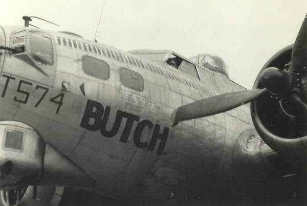 B-17 #43-37574 / Butch