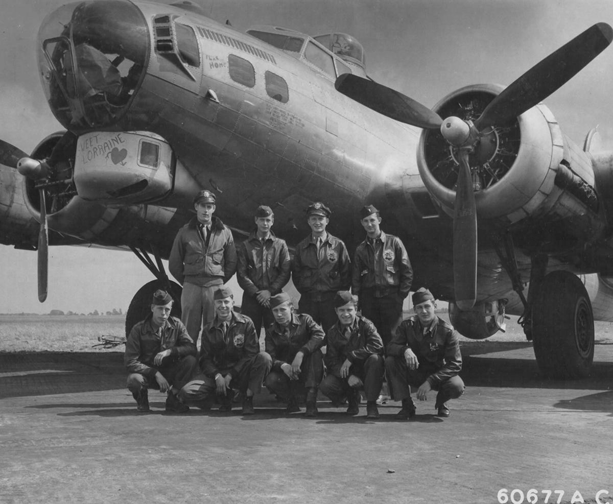 B-17 #43-37620 / Sweet Lorraine
