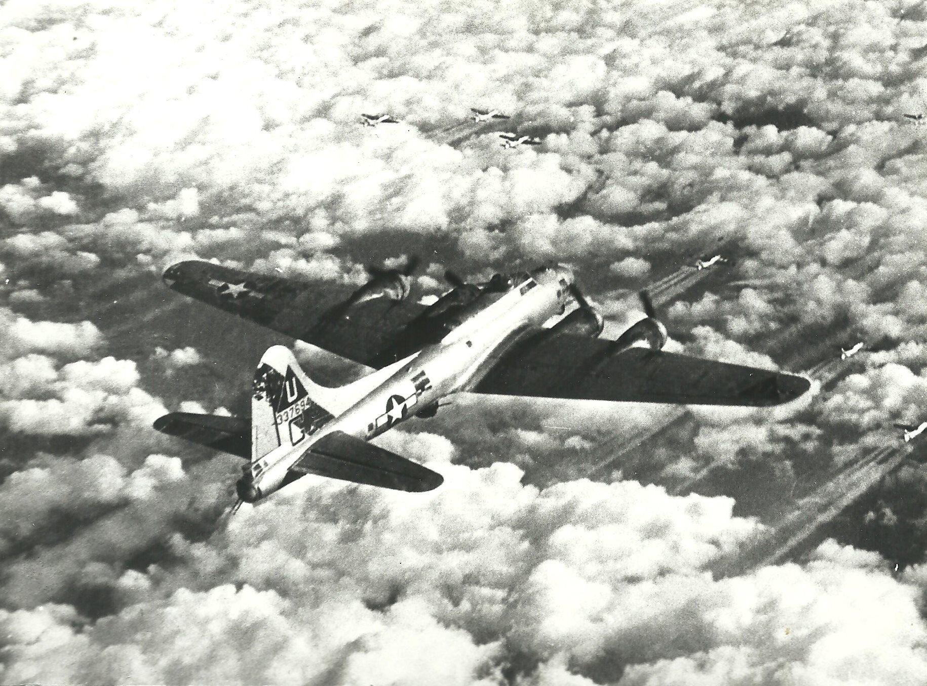 B-17 #43-37694 / Patty Ann