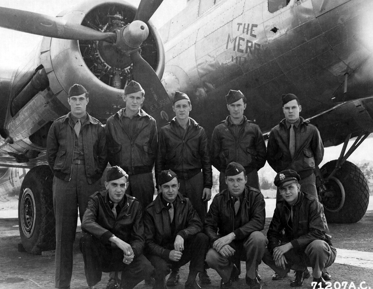 B-17 #43-37836 / Merry Max