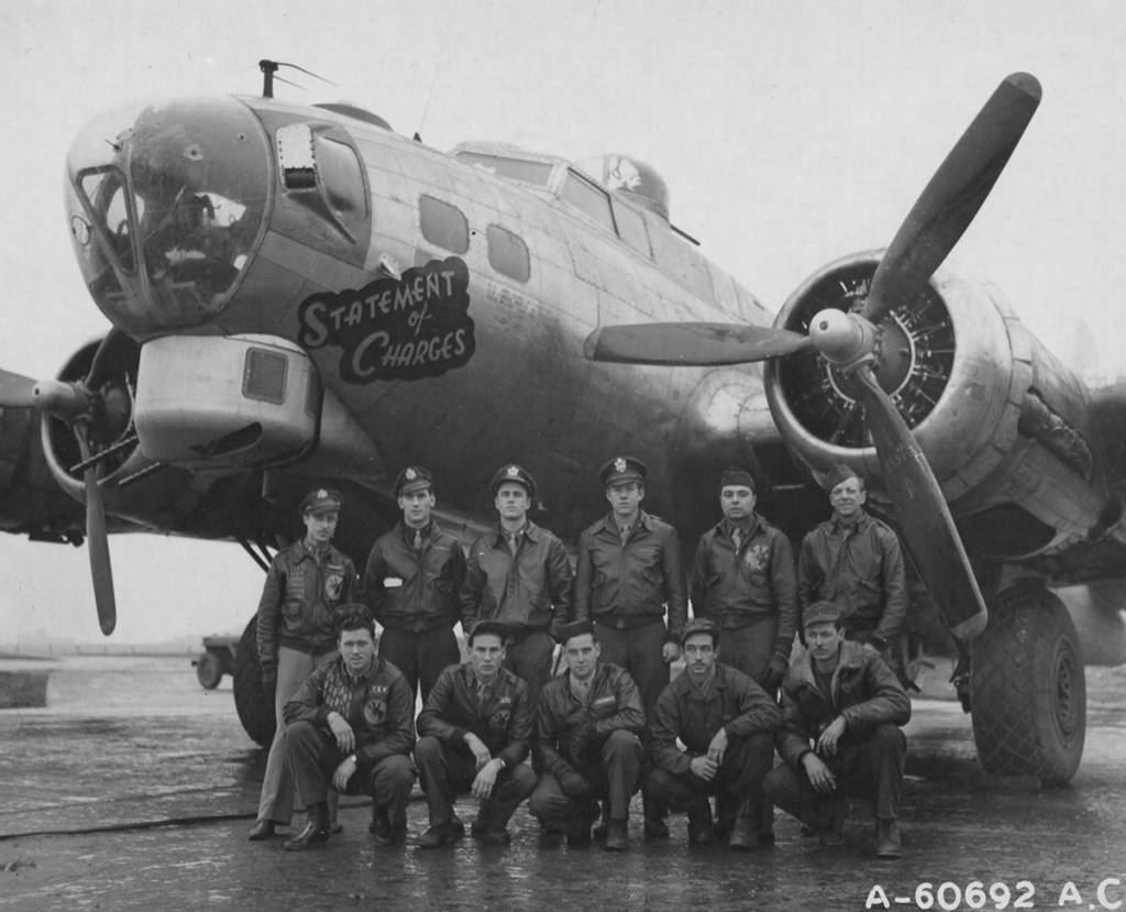 B-17 #42-102688 / Statement of Charges