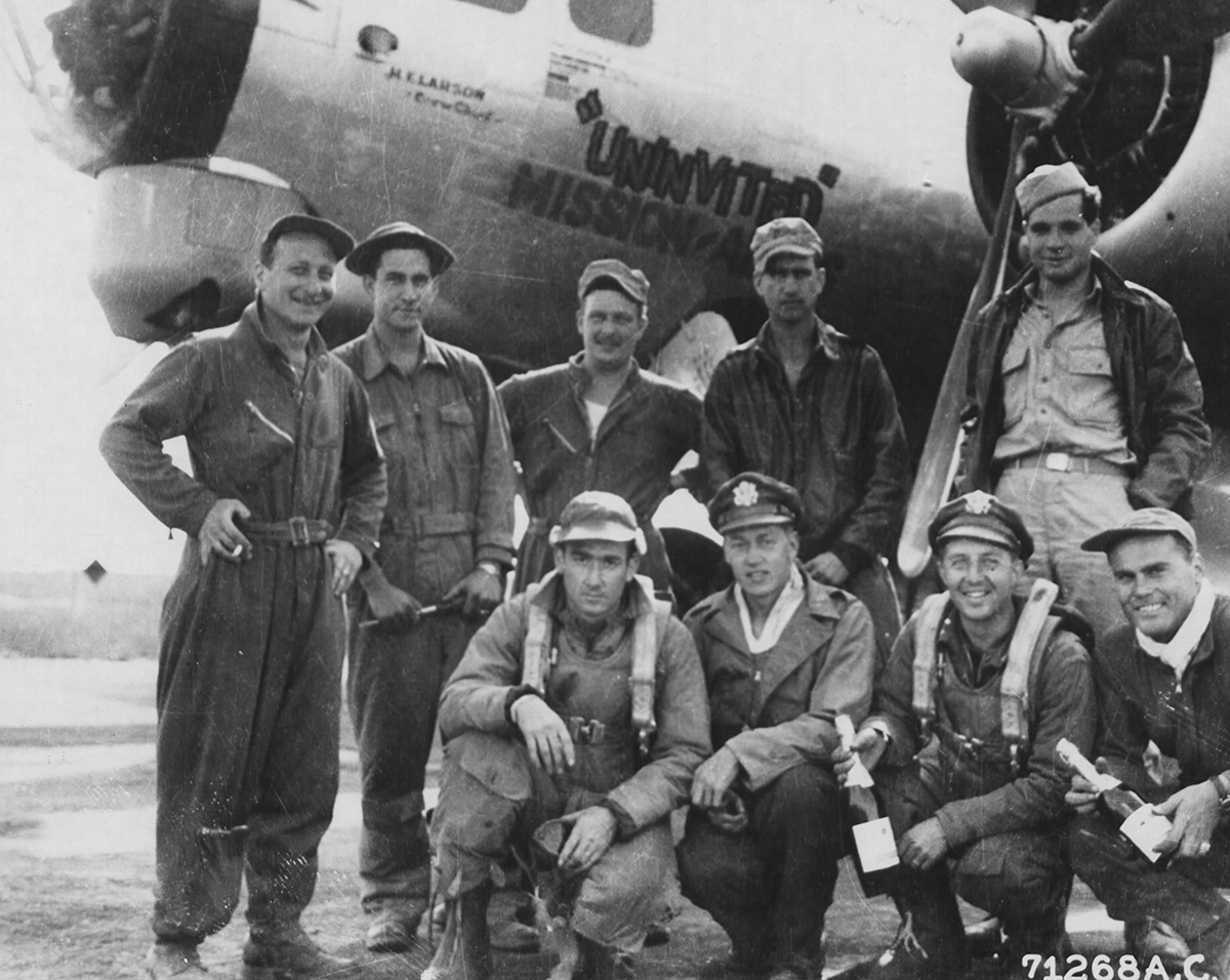 B-17 #42-107176 / The Univited Missionaires
