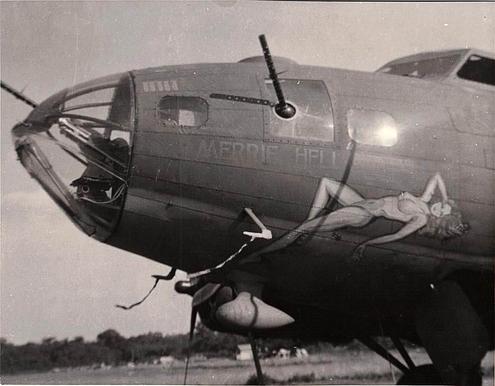 B-17 #42-30046 / Merrie Hell