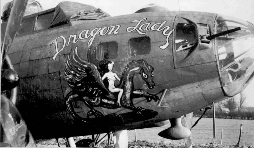 B-17 #42-30836 / Dragon Lady