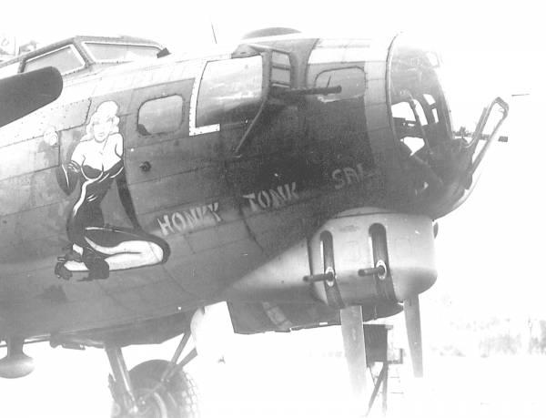 B-17 #42-31335 / Honky Tonk Sal