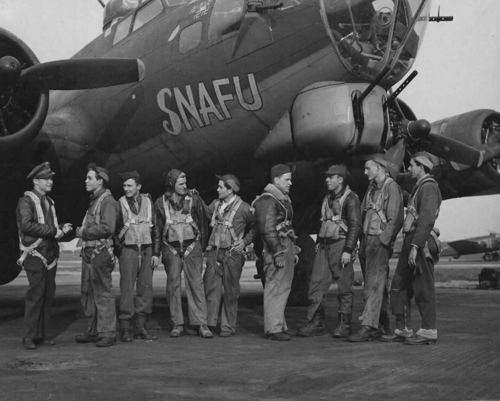 B-17 #42-31393 / Snafu