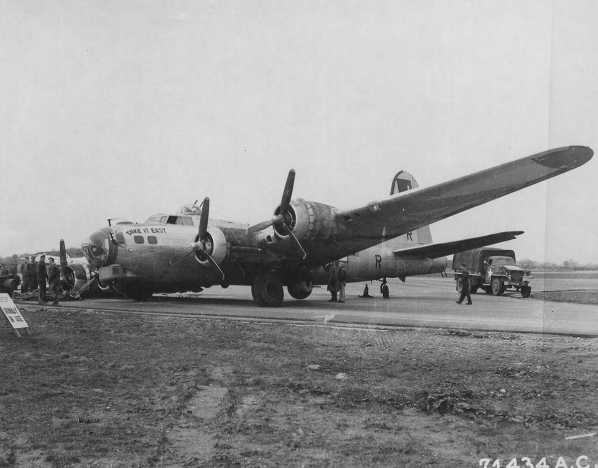B-17 #43-37895 / Take it Easy