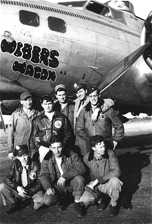 B-17 #43-38412 / Weber's Wagon