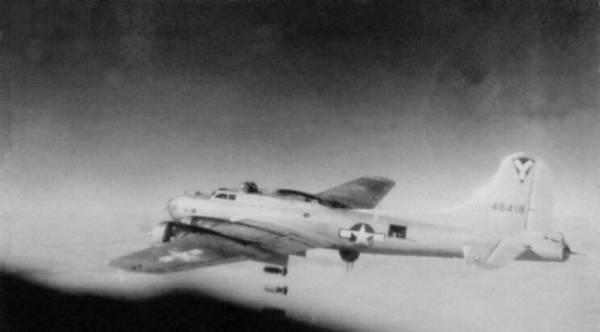B-17 #44-6418 / Mary Lou II
