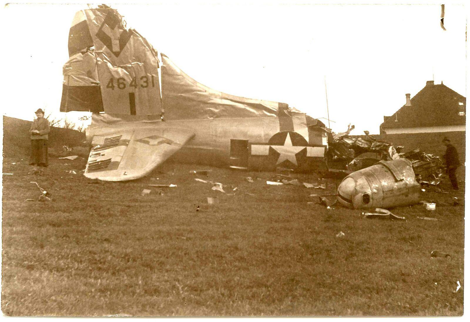 B-17 #44-6431 / Old Folks