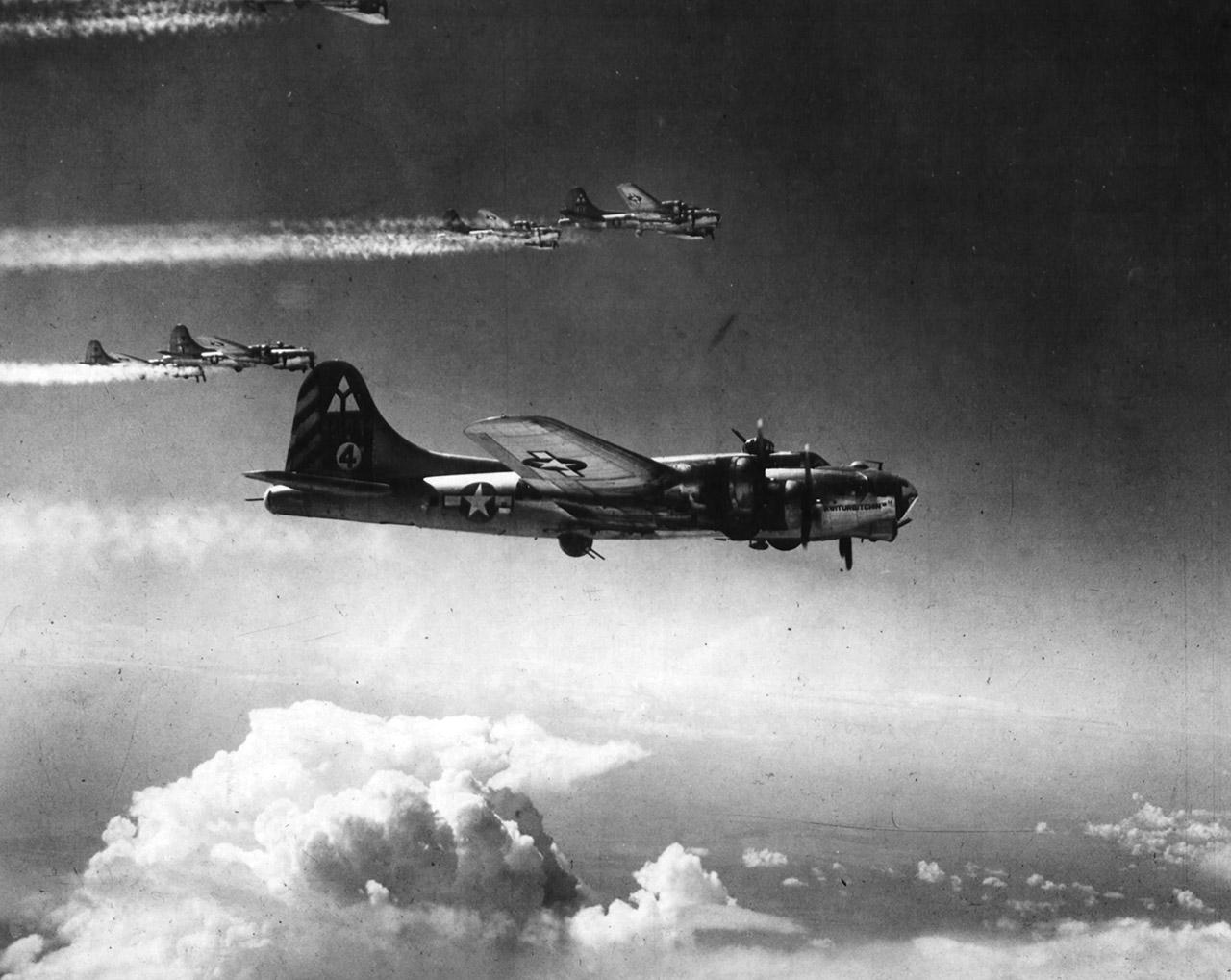 B-17 #44-6544 / Kwiturbitchin II