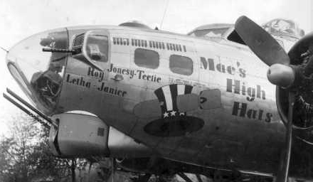 B-17 #42-102604 / Mac's High Hats