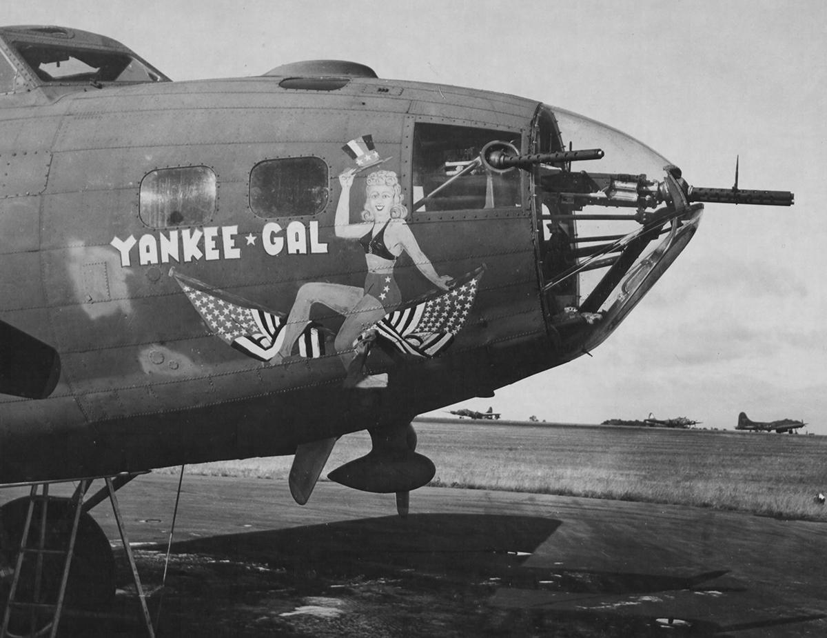 B-17 #42-29557 / Yankee Gal