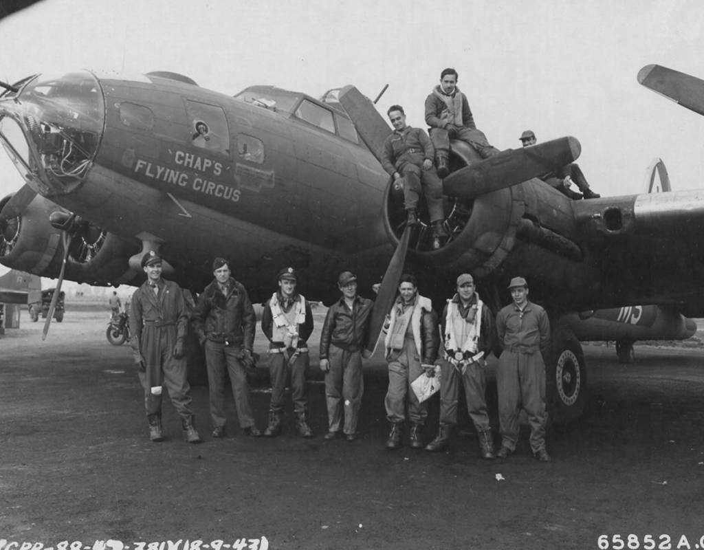 "B-17 #42-30029 / ""Chap's"" Flying Circus"