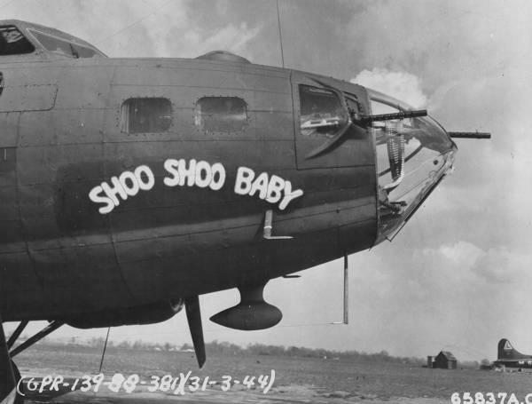 B-17 #42-30613 / Shoo Shoo Baby