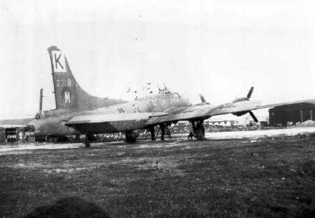 B-17 #42-31188 / Dead Man's Hand