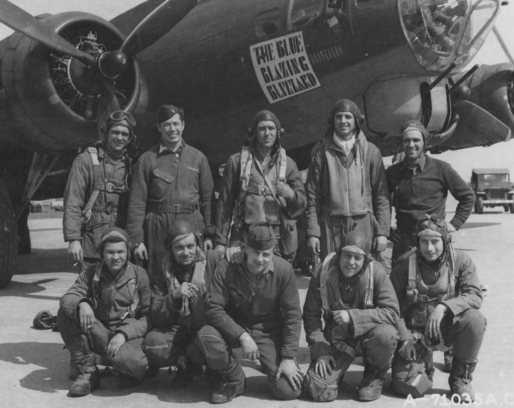 B-17 #42-31720 / Blue Blazing Blizza