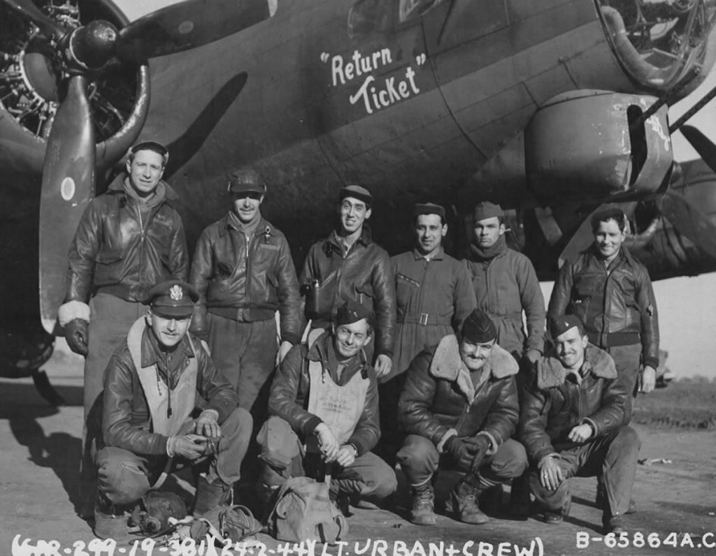 B-17 #42-39890 / Return Ticket