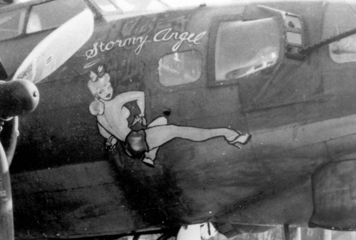 B-17 #42-39918 / Stormy Angel
