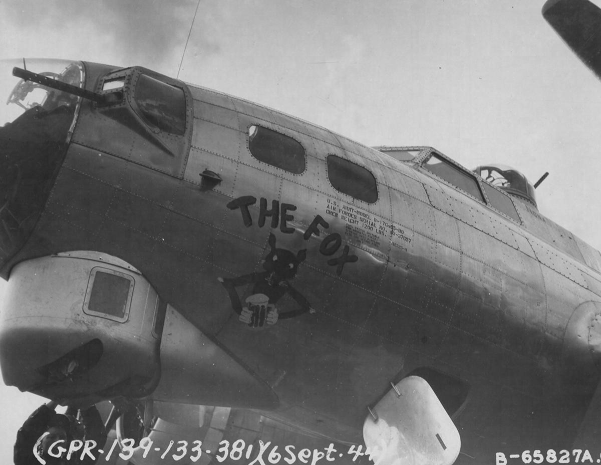 B-17 #43-37657 / The Fox