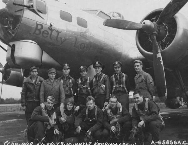 B-17 #43-37852 / Betty Lou