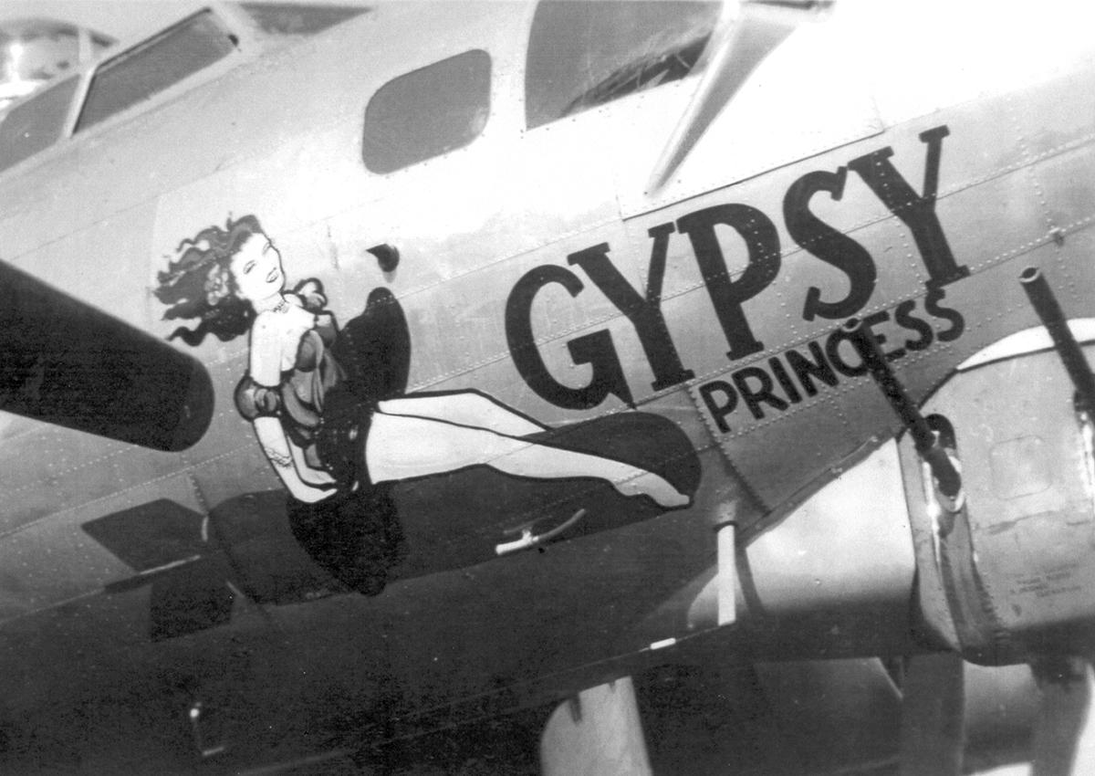 B-17 #43-39088 / Gypsy Princess