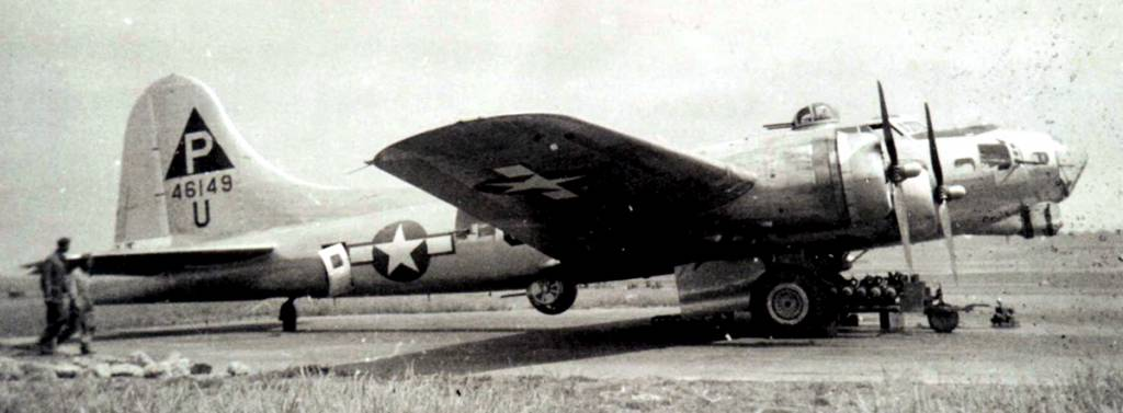 B-17 #44-6149 / Hot After It