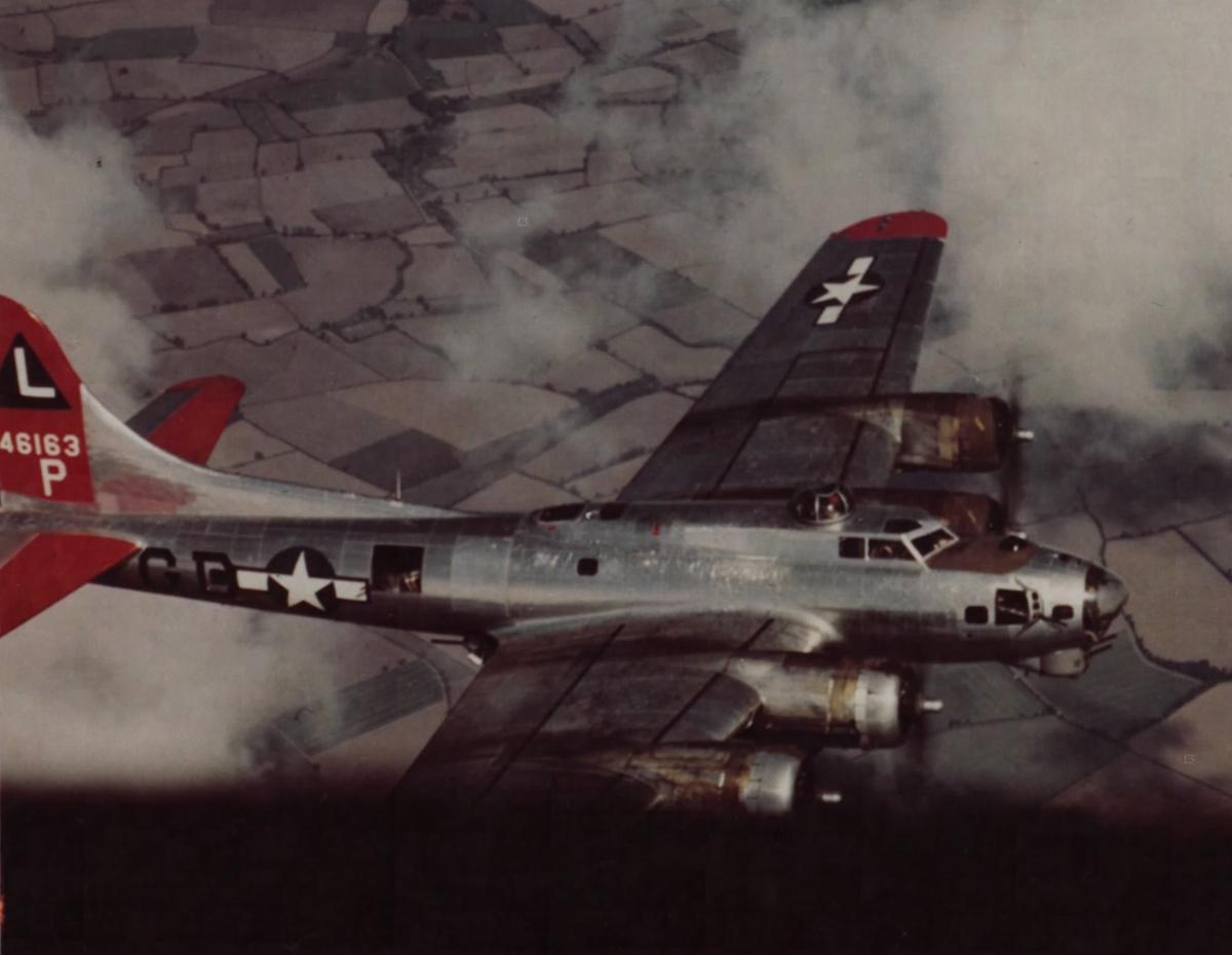 B-17 #44-6163 / Passaic Warrior