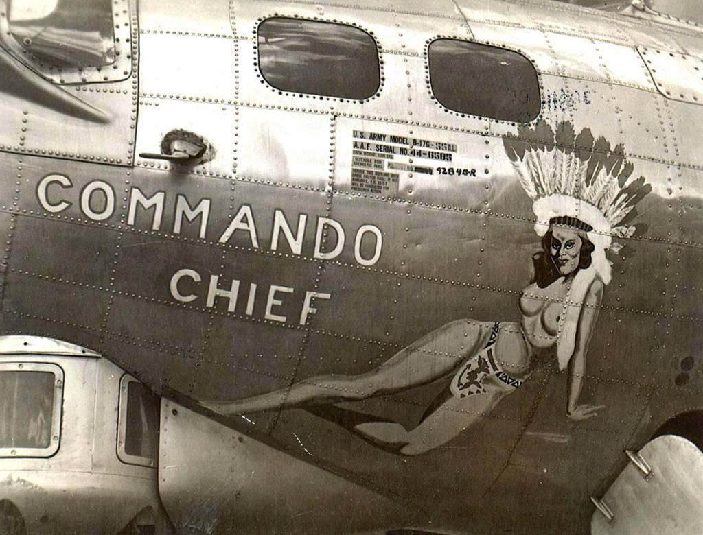 B-17 #44-6585 / Commando Chief