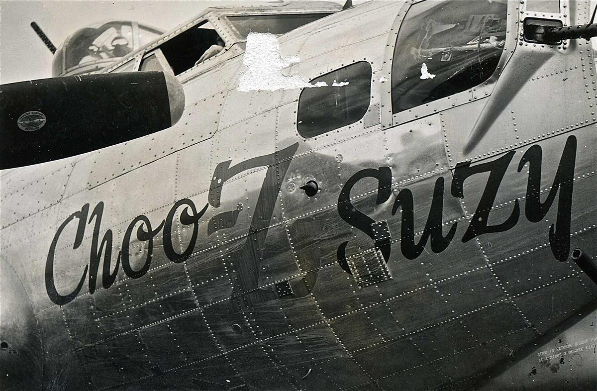 B-17 #44-6814 / Choo-Z-Suzy