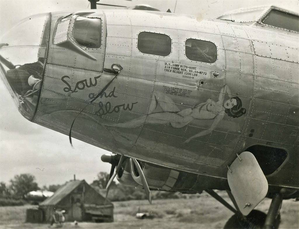 B-17 #44-8772 / Low and Slow