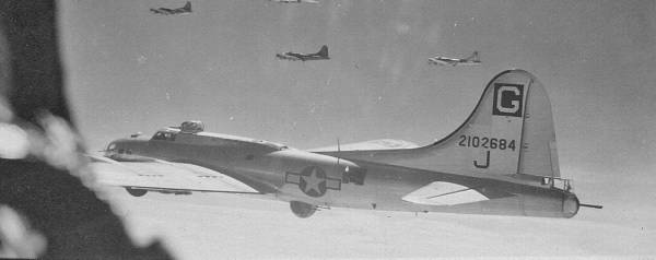 B-17 #42-102684 / Sweet Chariot