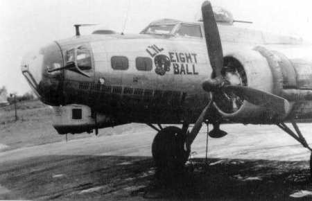 B-17 #42-107215 / L'il Eight Ball