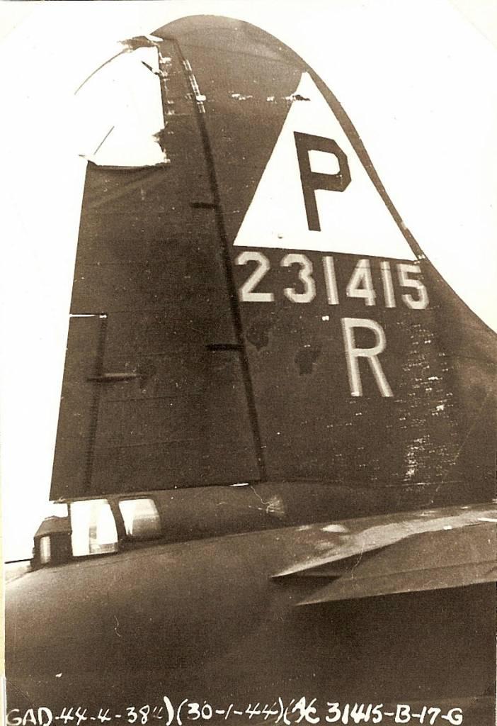 B-17 #42-31415 / Ham On Rye