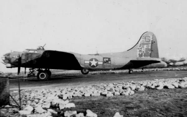 B-17 #42-31922 / The Purple Shaft