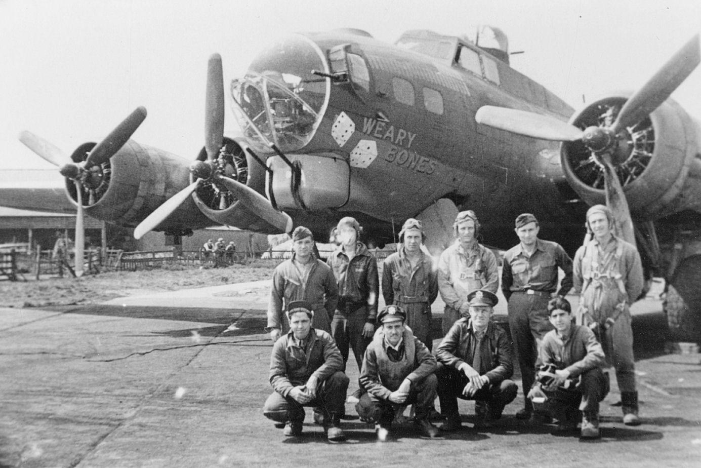 B-17 #42-37943 / Weary Bones